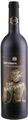 """19 Crimes """"The Banished - Dark Red"""""""
