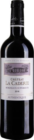 Chateau La Caderie Authentique Bordeaux Superieur AOC 2018